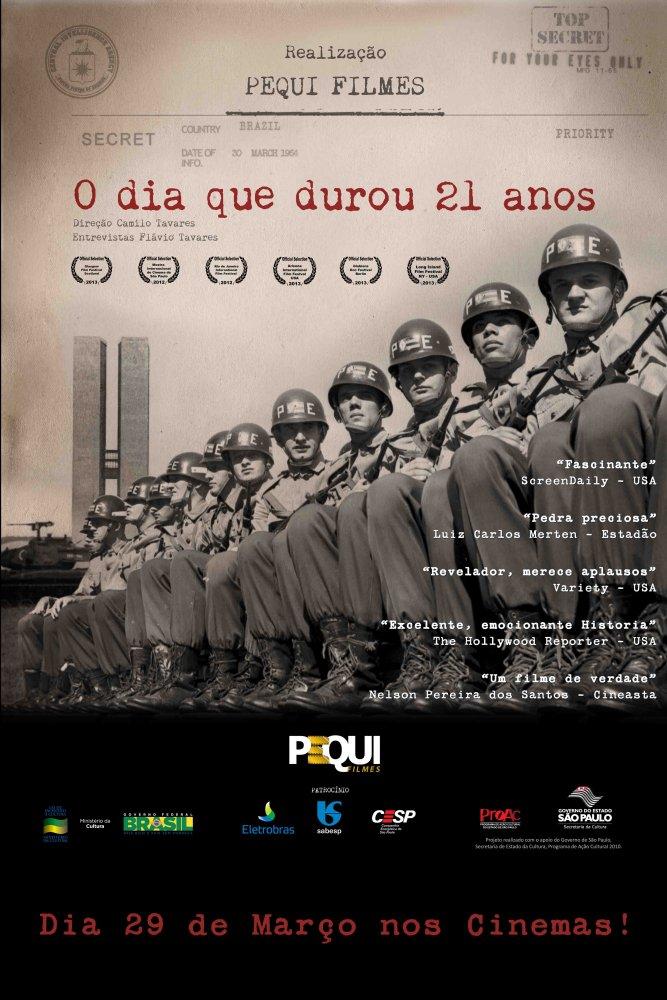 Poster do filme O Dia que Durou 21 Anos