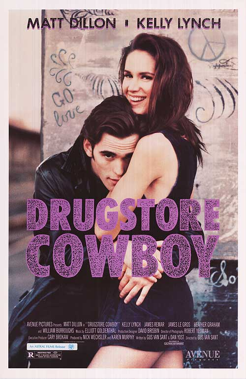 Poster do filme Drugstore cowboy