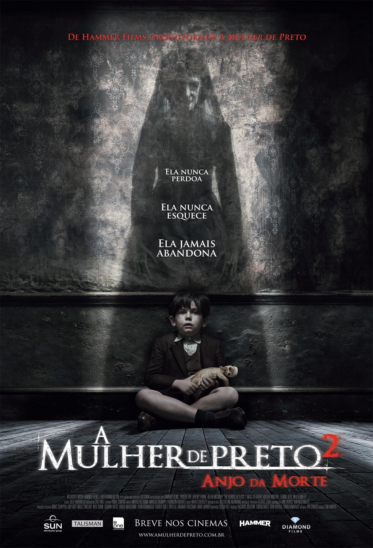 Poster do filme A Mulher de Preto