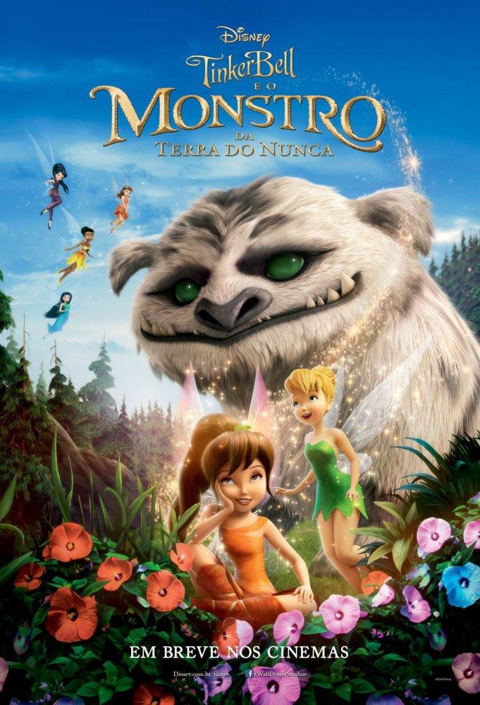 Poster do filme Tinker Bell e o monstro da terra do nunca