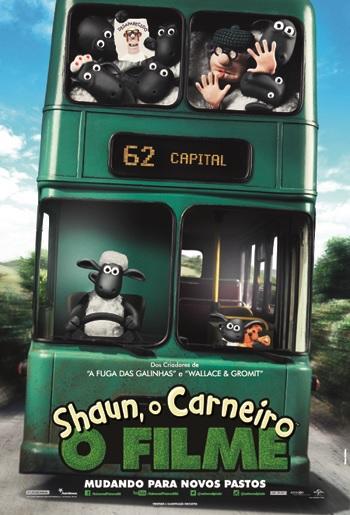 Poster do filme Shaun: O Carneiro - O Filme
