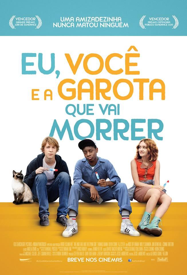 Poster do filme Eu, você e a garota que vai morrer