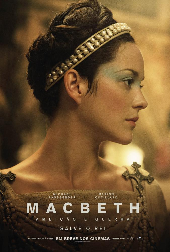Poster do filme Macbeth: Ambição e Guerra