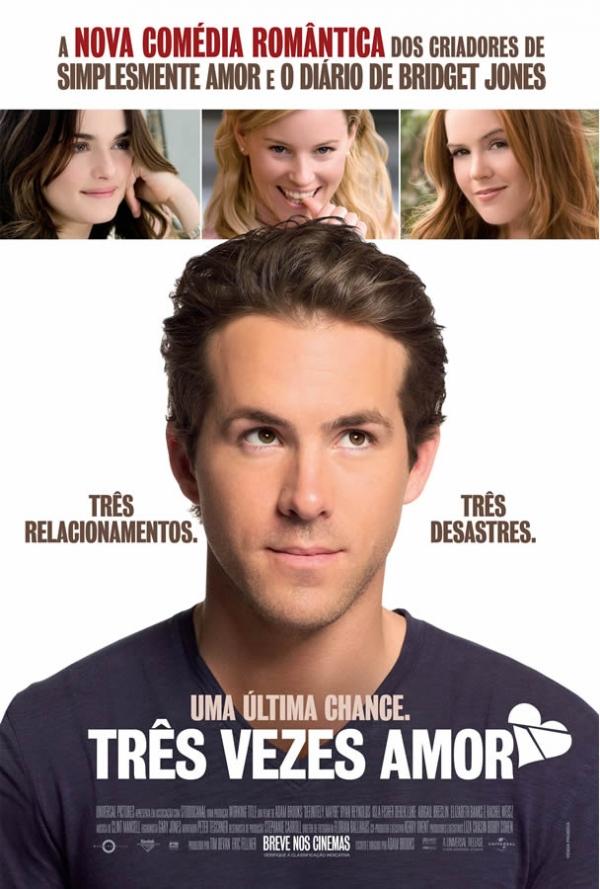 Poster do filme Três Vezes Amor