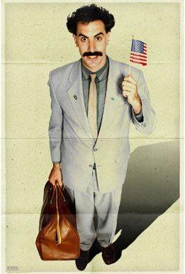 Poster do filme Borat - O Segundo Melhor Repórter do Glorioso País Cazaquistão ...