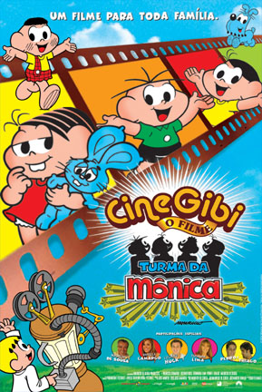 Poster do filme Cinegibi, o Filme - Turma da Mônica