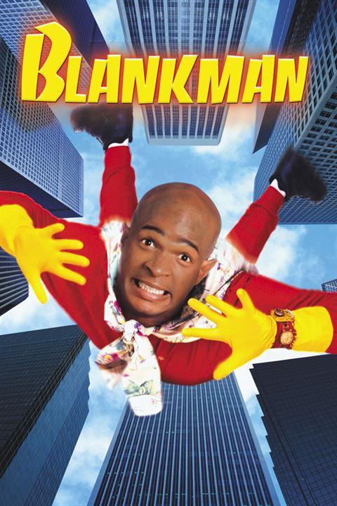 Poster do filme Blankman - Um Super-Herói Muito Atrapalhado