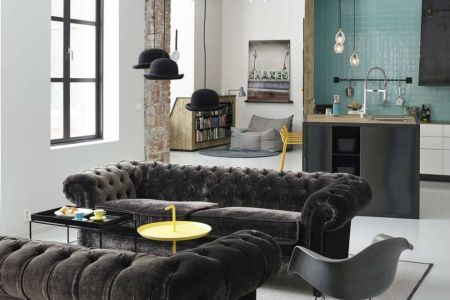 interior design tips velvet chesterfield sofa 6