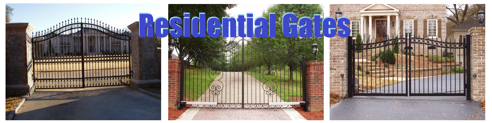 Residential Gates and Fences