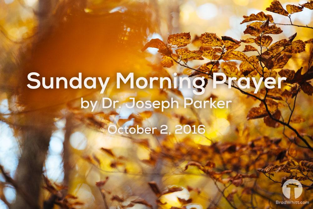 Sunday-Morning-Prayer-October-2,-2016