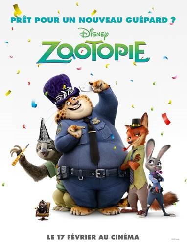 zootopie affiche
