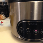 If you have a rice cooker, this is when you want to start it.