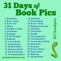 Instagram Challenge: #31BookPics - Roundup 1