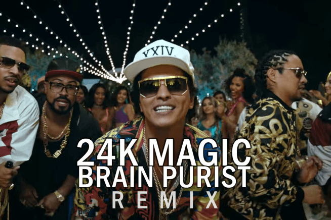 Bruno Mars – 24K Magic (Brain Purist Remix) [DOWNLOAD]