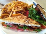 BLT: House Smoked Bacon, Arugula, Aioli, Fries