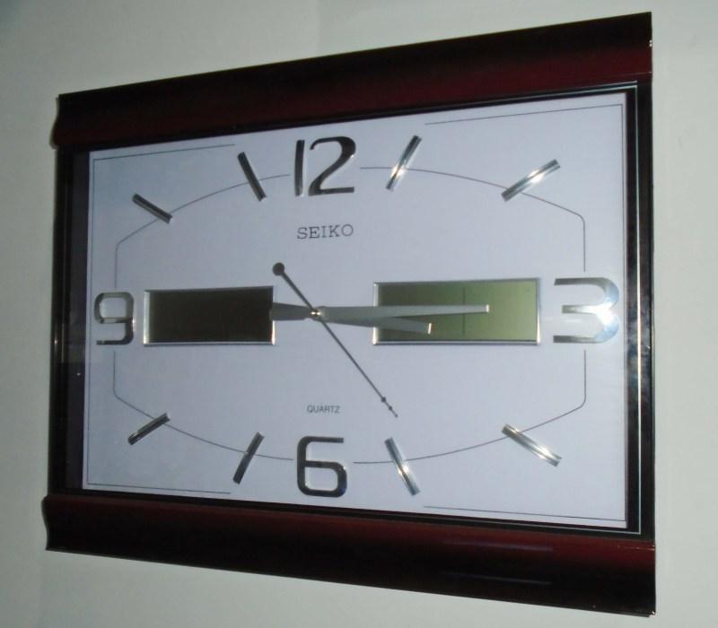 Large Of Analog Digital Wall Clock