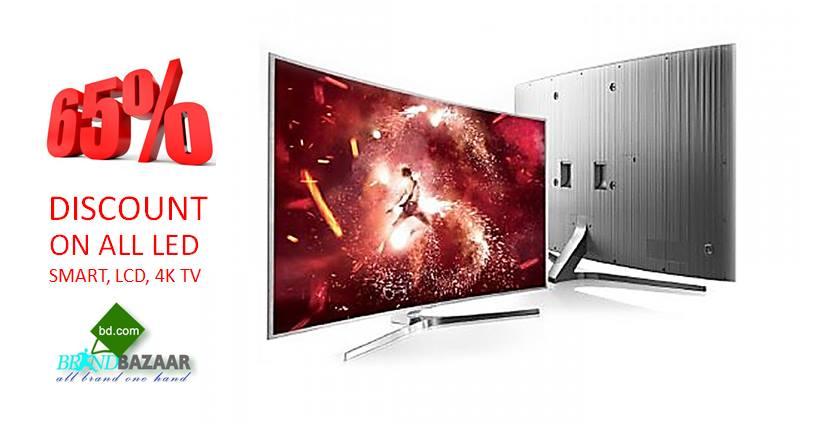 BRAND BAZAAR এ LED / 3D/ Smart / 4K TV 65% ডিস্কাউন্ট