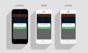 Pop Up Windows: Login Screen: Mobile App UX, UI Design