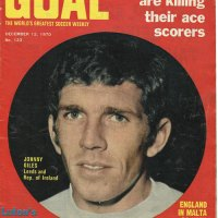 Goal Magazine - 1970  and Johhny Giles