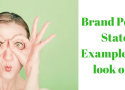 Brand Positioning template examples