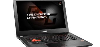 ASUS Republic of Gamers predstavil Strix GL502