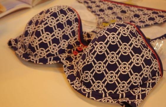 Cleo Swim Lucille Bandeau Bikini Sailors Knot