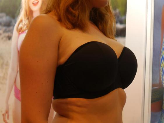 Curvy Kate Luxe Strapless Black SS15