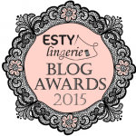 Esty Lingerie Blog Awards 2015