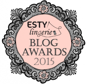 Esty Lingerie Blog Awards Logo