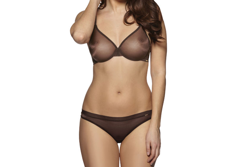 Gossard Glossies in Rich Brown - Nude Bras for WOC