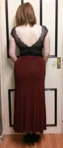 Lingerie as outerwear - Gossard Desire Soft Body with Maxi Skirt (3)
