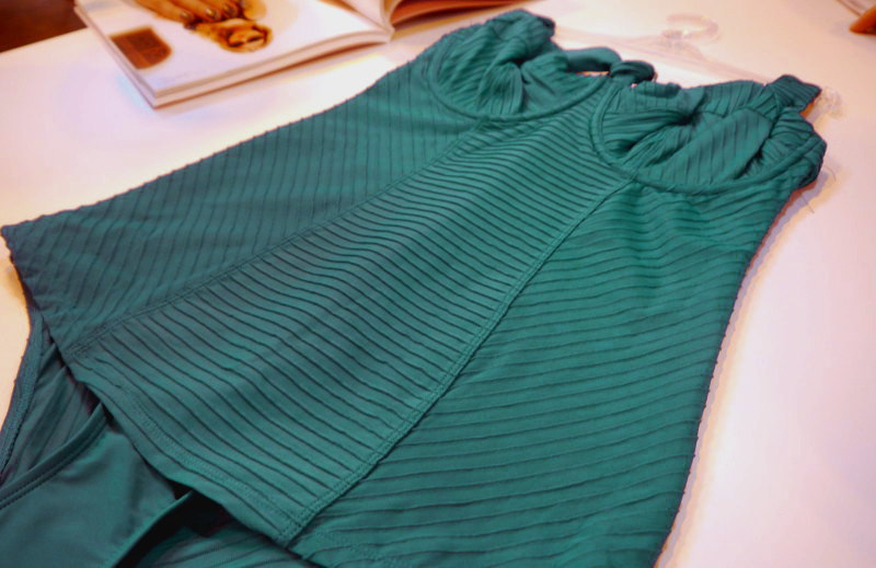 Panache Swim Venice Halter Swimsuit Emerald