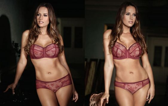 Parfait Estelle in Merlot - Nude Bras for WOC