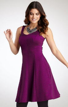 Pepperberry Bianca Dress Fuschia