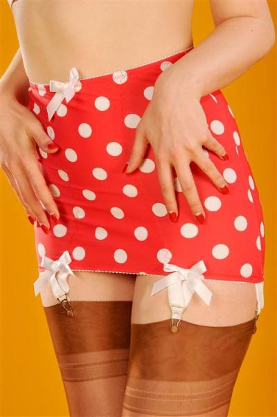 Polka dot girdle