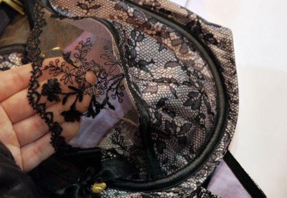 Rochella Nina Noir Bra Detailing (Rochella AW16)
