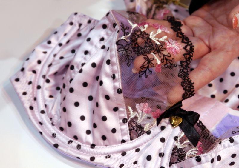 Rochella Pretty In Pink Polka Bra Detailing (Rochella SS16)