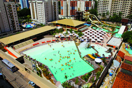 Piscina de Ondas do Water Park