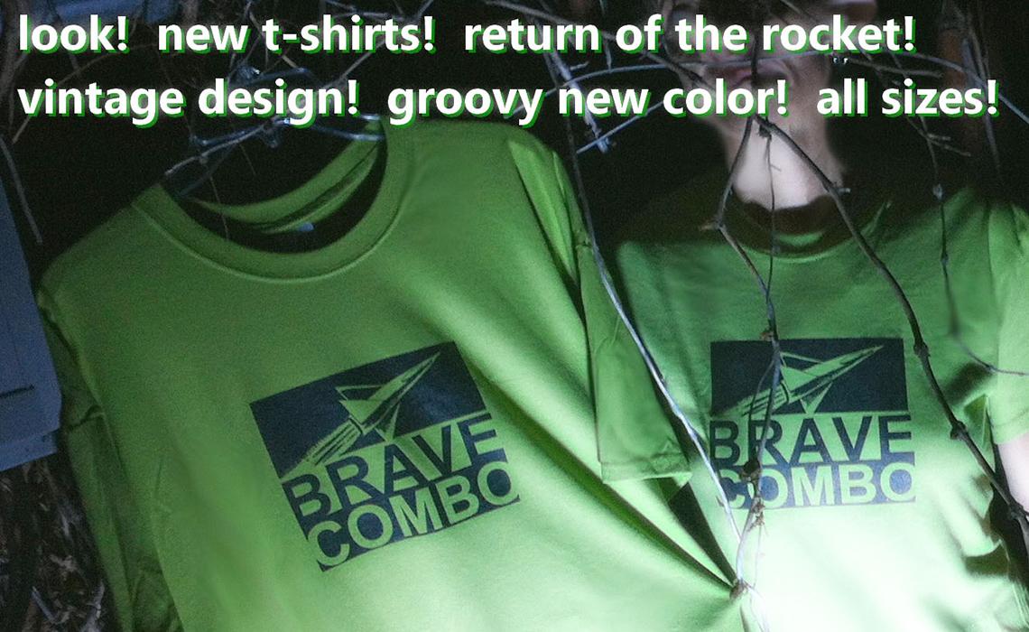 Green Brave Combo Rocket Shirt