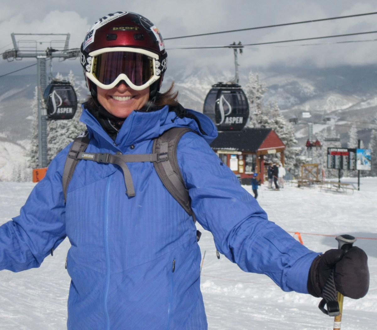 Columbia Omni Heat Technology Field Tested by The Brave Ski Mom