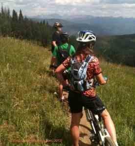 colorado mountain bike family beaver creek