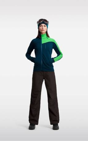 carve zip midlayer womens icebreaker