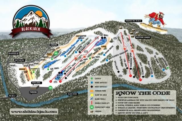 blackjack ski resort trail map