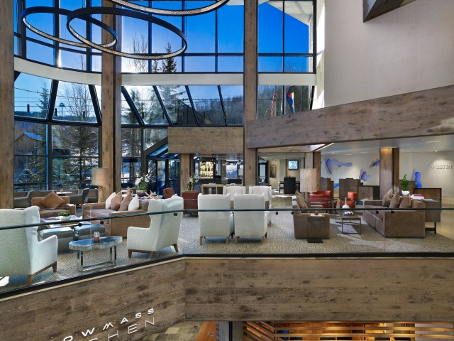 westin snowmass resort lobby