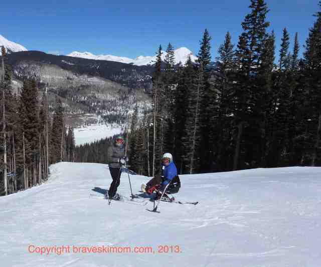 skiing at purgatory engineer mountain
