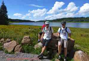 birthday biking grand mesa colorado