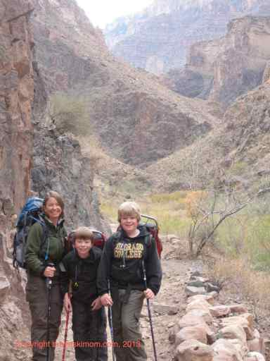 backpacking grand canyon