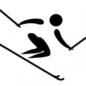 olympic sports alpine clip art