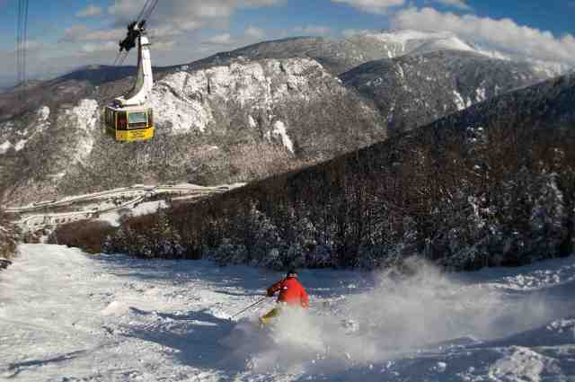 cannon mountain new hampshire tramline