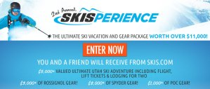 Win An $11,000 Skisperience from Skis.com